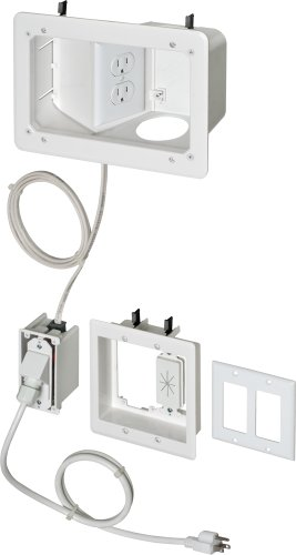 Arlington-TVB712BK-1-Angled-Box-In-Wall-Wiring-Kit-Pre-Wired-TV-Bridge-2-Gang-White-1-Pack-0