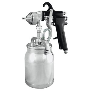 Astro-AS7SP-Spray-Gun-with-Cup-Black-Handle-18mm-Nozzle-0