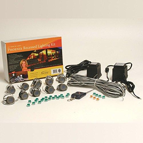 Aurora-Phoenix-Recessed-LED-Deck-Light-Cool-White-10-Pack-Lighting-Kit-0