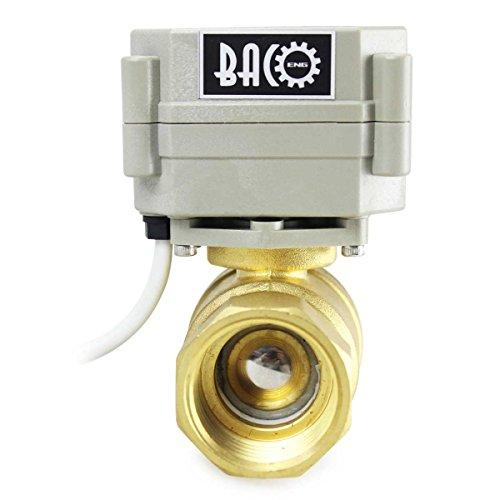 BACOENG-12-1-14-ACDC9-36V-2Way3-Way-BSSS-Motorized-Ball-ValveNPTBSP-Electric-Ball-Valve-CR202-NC-0-0