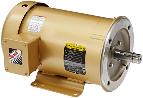 Baldor cem3613t general purpose ac motor 3 phase 184tc for 5 hp tefc motor