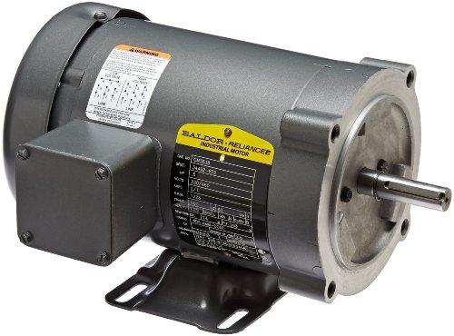 Baldor cm3538 general purpose ac motor 3 phase 56c frame for Baldor permanent magnet motors
