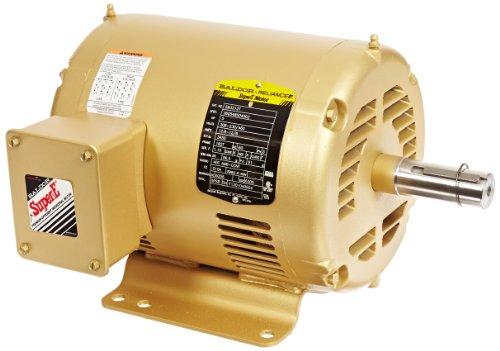 Baldor em3212t general purpose ac motor 3 phase 182t for Motor baldor 20 hp