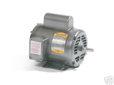 Baldor em3218t general purpose ac motor 3 phase 184t for Single phase motor price