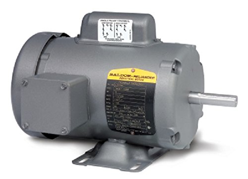 Baldor-L3510TM-General-Purpose-AC-Motor-Single-Phase-143T-Frame-TEFC-Enclosure-1Hp-Output-1725rpm-60Hz-115230V-Voltage-0