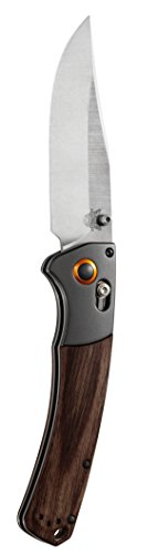 Benchmade-Knife-15080-2-Crooked-River-Folding-Hunter-Wood-Handle-0-1