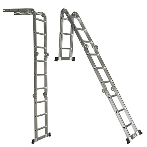 Best-Choice-Products-SKY528-Scaffold-Extendable-Heavy-Duty-Multi-Purpose-Folding-Step-Ladder-Aluminum-0-1