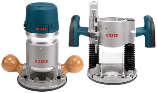 Bosch-1617EVSPK-12-Amp-2-14-Horsepower-Plunge-and-Fixed-Base-Variable-Speed-Router-Kit-with-14-Inch-and-12-Inch-Collets-0