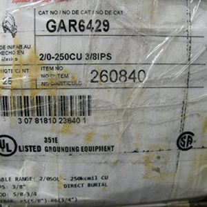 Box-of-25-Burndy-GAR6429-Grounding-Connectors-Clamps-20-250-38IPS-0-1