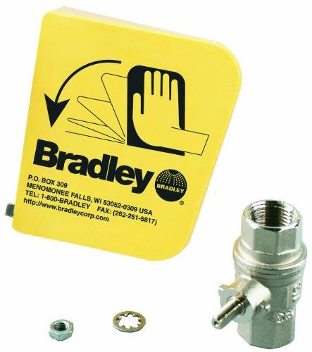 Bradley-S45-122-2-Piece-Ball-Valve-Plastic-Handle-Set-0