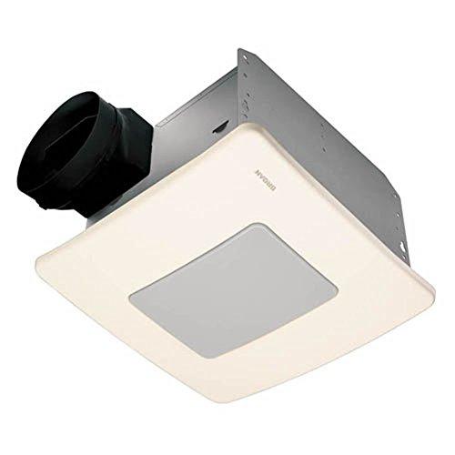 Broan Nutone Qtxe110flt Ultra Silent Bathroom Fan Light