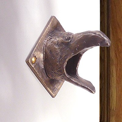 Bronze-Raven-Door-Chime-Surround-with-Lighted-Button-0-1