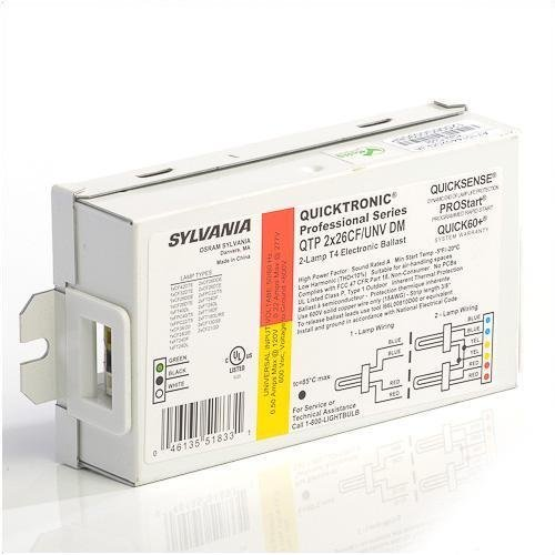 Case-of-10-Sylvania-51833-QTP2X26CFUNV-REPLACES-SL51763-Compact-Fluorescent-Ballast-0-0