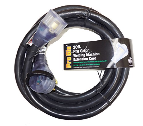 Century-Pro-Glo-20ft-83-STW-8-Gauge-3-Conductor-Lighted-Welding-Machine-Extention-Cord-40A-250V-Black-D13308020-0