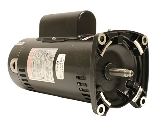 Century-USQ1202-2-HP-3450-RPM-48Y-Frame-Capacitor-StartCapacitor-Run-ODP-Enclosure-Square-Flange-Pool-Motor-0