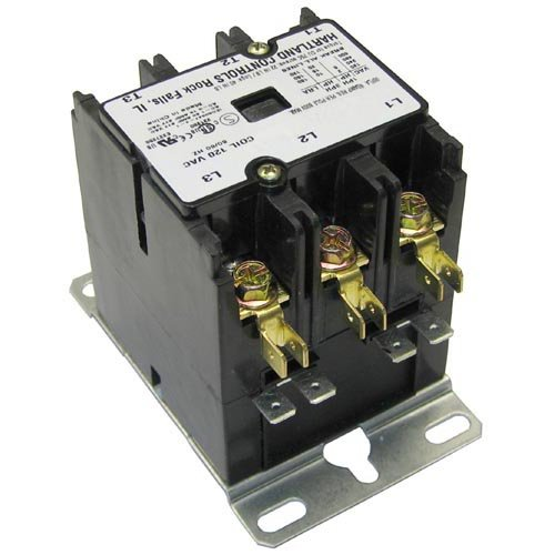 Champion-105514-Contactor-3-Poles-5065A-110120Volt-For-Champion-Vleveland-Vulcan-Hart-441089-0