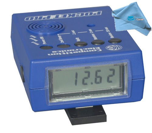 Competition-Electronics-Pocket-Pro-Shot-Timer-and-Purchasecorner-Polish-Cloth-Bundle-0