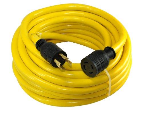 Conntek-20602-50-Foot-104-30-Amp-125250-Volt-4-Prong-L14-30-Transfer-Switch-CordGenerator-Extension-Cord-0