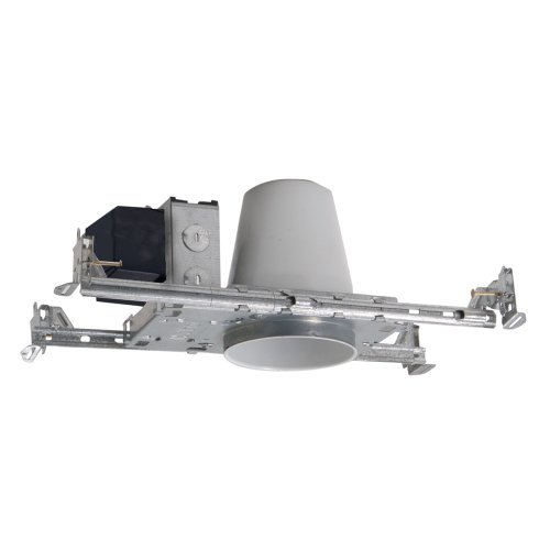 Cooper-Lighting-HALO-H1499TAT-4-inch-Aperture-Shallow-Ceiling-New-Construction-Non-IC-Airtite-12V-Low-Voltage-MR16-0