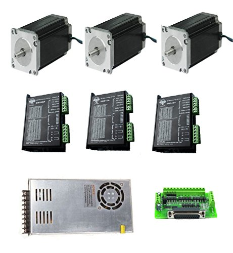 DC-HOUSE-3-Axis-NEMA-23-Stepper-Motor-425oz-in-CNC-Controller-Kit-23HS9430-Longs-Motor-0