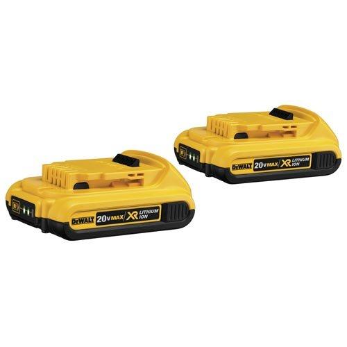 DEWALT-DCB203-2-20V-Max-Compact-XR-Li-Ion-Compact-Battery-2-Pack-0
