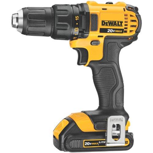 DEWALT-DCD780C2-20-Volt-Max-Li-Ion-Compact-15-Ah-DrillDriver-Kit-0
