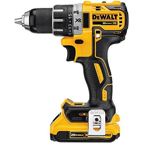 DEWALT-DCD791D2-20V-MAX-XR-Li-Ion-05-20Ah-Brushless-Compact-DrillDriver-Kit-0-0