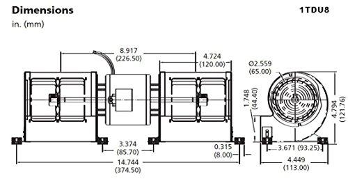 Dayton-1TDU8-Low-Profile-Blower-115-Volt-0-0
