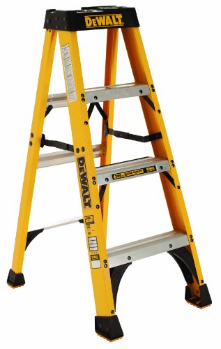 DeWalt-DXL3010-04-4-Feet-Fiberglass-Stepladder-Type-IA-with-300-Pound-Duty-Rating-4-Feet-0