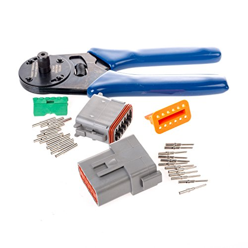 Deutsch-12-Pin-Solid-Contact-Complete-Connector-Kit-w-Crimper-0