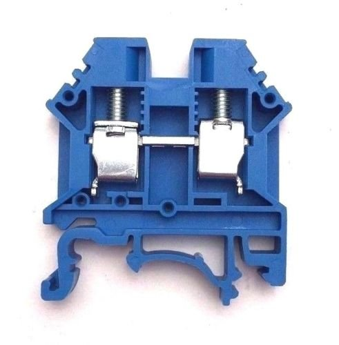Dinkle-DK6N-BL-DIN-Rail-Terminal-Block-Screw-Type-UL-600V-50A-8-20AWG-Blue-Pack-of-100-0
