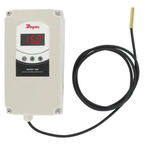 Dwyer-Temperature-Control-Weatherproof-Enclosure-TSW-150-90-255VAC-Power-Supply-Single-Stage-0
