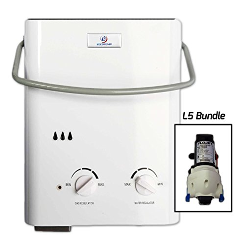 Eccotemp-Systems-L5-Pump-Bundle-L5-Tankless-Water-Heater-with-Flojet-Pump-0