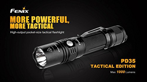 Fenix-PD35-TAC-1000-Lumen-CREE-XP-L-LED-Tactical-Flashlight-with-Two-EdisonBright-CR123A-Lithium-Batteries-0-1