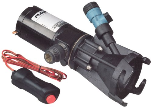 Flojet-18555-000A-Portable-RV-Waste-Pump-12-Volt-DC-Macerator-Includes-Carrying-Case-0