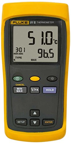Fluke-50-Series-II-Digital-Thermometer-3-AA-Battery-418-to-2501-Degree-F-Range-0-0