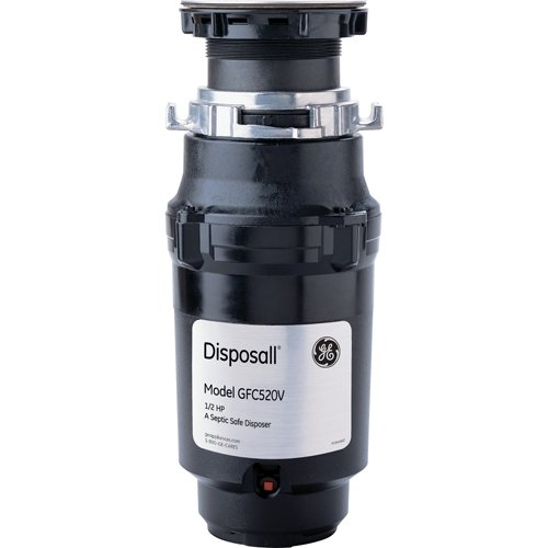 General-Electric-GFC520V-12-Horsepower-Continuous-Feed-Disposall-Large-Capacity-Food-Waste-Disposer-Black-0