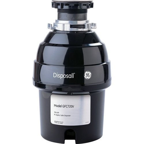 General-Electric-GFC720V-34-Horsepower-Deluxe-Continuous-Feed-Disposall-Super-Capacity-Food-Waste-Disposer-Black-0