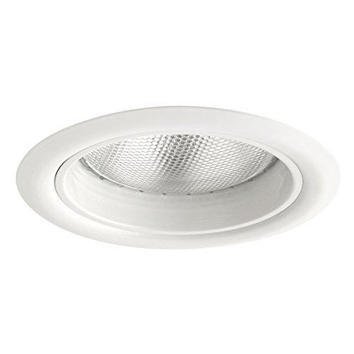 Globe-Electric-90961-BR30-65W-OutdoorIndoor-Rust-Resistant-Regressed-Round-Recessed-Lighting-Kit-Flood-Light-White-Finish-Baffle-4-Pack-5-0-1