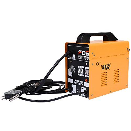 Goplus-MIG-130-Welder-Flux-Core-Wire-Automatic-Feed-Welding-Machine-w-Free-Mask-0-1
