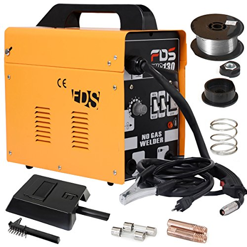 Goplus-MIG-130-Welder-Flux-Core-Wire-Automatic-Feed-Welding-Machine-w-Free-Mask-0