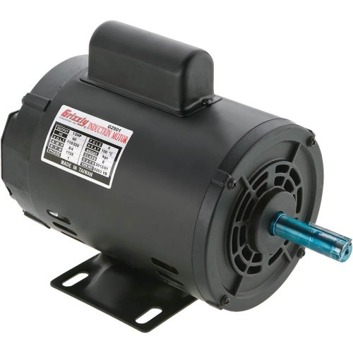 Grizzly-G2903-Single-Phase-Motor-0