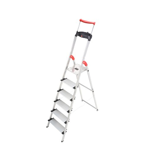 Hailo-8856-281-XXR-6-Step-Aluminum-Ladder-0
