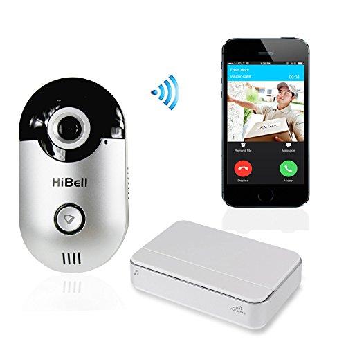 Hibell-WiFi-Wireless-Video-Doorbell-Doorphone-Home-Security-Camera-Phone-Intercom-Alarm-PnP-Andriod-Apple-Push-Notification-0