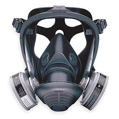 Honeywell-772000-S-Series-Survivair-Opti-Fit-Full-Face-APR-Respirator-5-Point-Strap-Large-0
