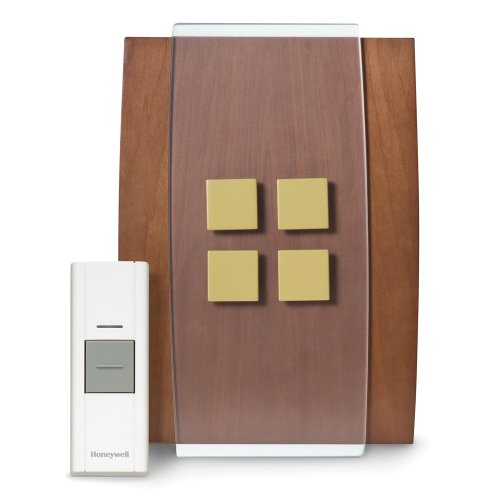 Honeywell-RCWL3506A1003N-Decor-Wireless-Door-Chime-and-Push-Button-0