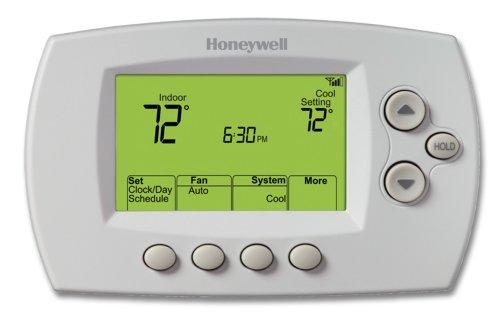 Honeywell-RET97E5D1005U-Wi-Fi-Programmable-Thermostat-0