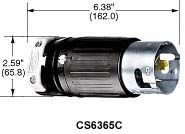Hubbell-CS8165C-Locking-Plug-50-amp-480V-3-Pole-and-4-Wire-0