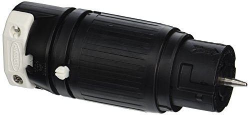 Hubbell-CS8264C-Locking-Connector-50-amp-250V-2-Pole-and-3-Wire-0