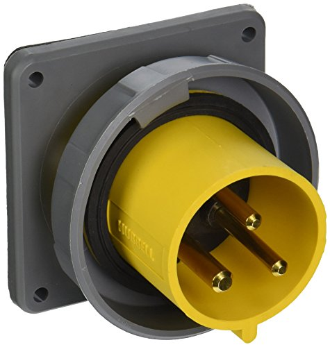Hubbell-HBL330B4W-Pin-and-Sleeve-IEC-Inlet-2-Pole-3-Wire-30-amp-125V-Watertight-0